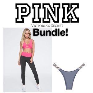 VS PINK Bundle *leggings & panties*